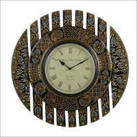 Wooden Carved Wall Clock