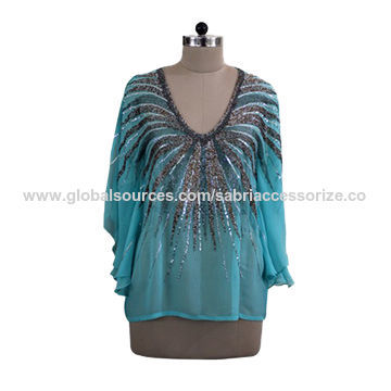 Ladies Silk Kaftan