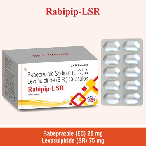 Rabeprazole  20 mg+Levosulpiride (SR) 75 mg