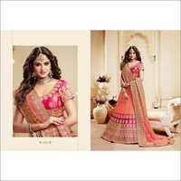 Ladies Embroidered Bridal Lehenga