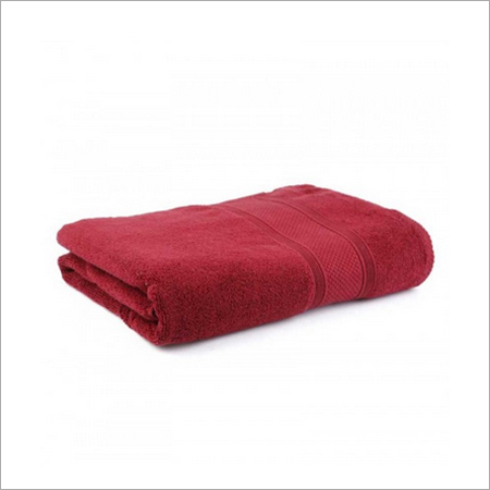 Jums Jumbo Cotton Bath Towel - Maroon