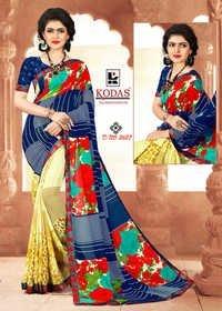Online Fancy Weightless Printed Saree