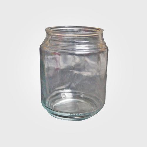 Flat Glass Lid Candle Jar