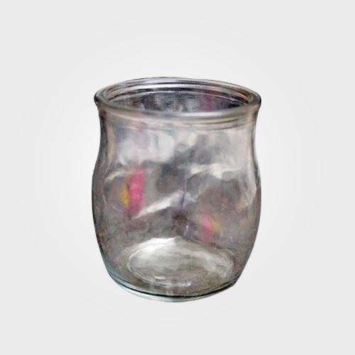 Stylish Glass Candle Jar