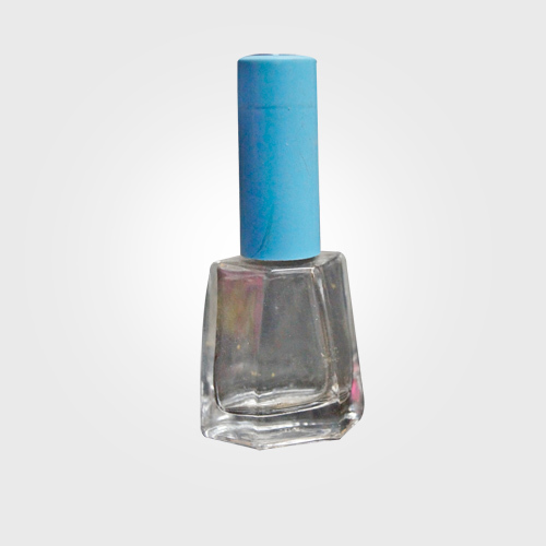 Empty Glass Nail Paint Bottle