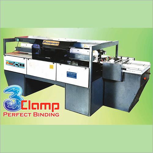 Three Clamp Perfect Binding