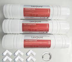 Lexpure Silver Inline Carbone Filters