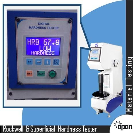 Digital Rockwell & Superficial Hardness Tester