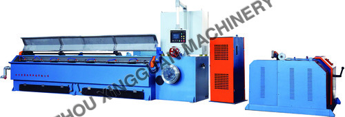 Aluminum alloy welding wire break down machine