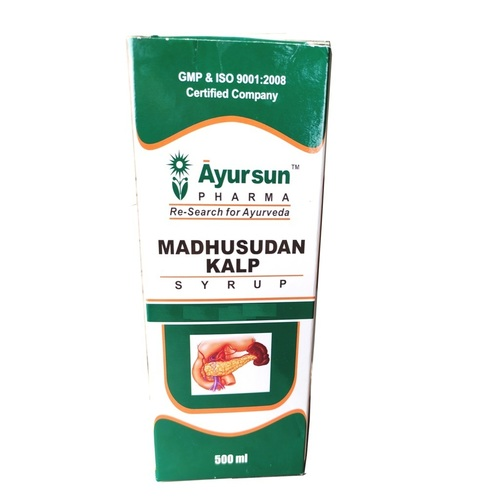 Ayurvedic Herbal Syrup For Diabetes Defeater - Madhusudan Kalp Syrup