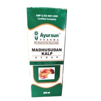 Herbal Ayurvedic Syrup For Diabetes Defeater - Madhusudan Kalp Syrup