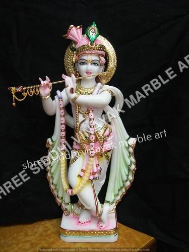 Mrable Krishna Statue
