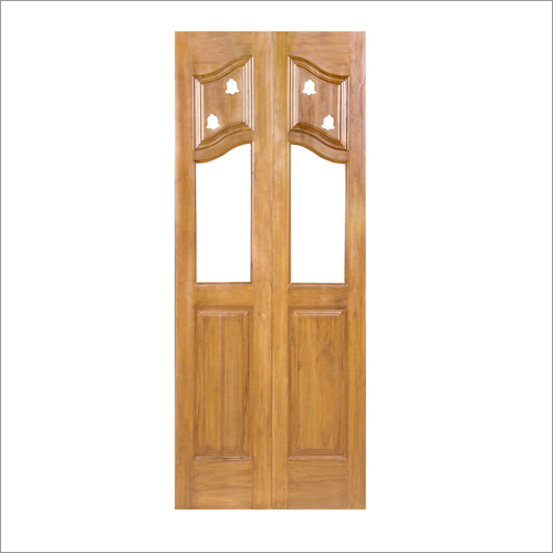 Teak Wooden Pooja Doors Shree Balaji Wood Impex A 3 Amar Colony