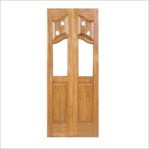 Teak Wooden Pooja Doors