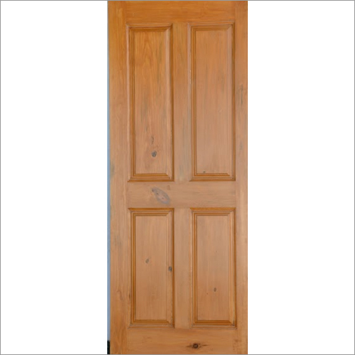 Stylish Teak Panel Doors