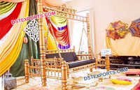 Beautiful Sankheda Indian Wedding Swing