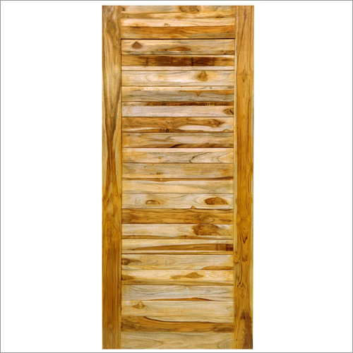Teak Simple Panel Doors