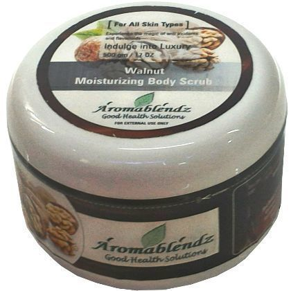 Aromablendz Walnut Body Scrub