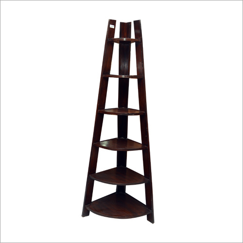 Designer Wooden Corner Stand