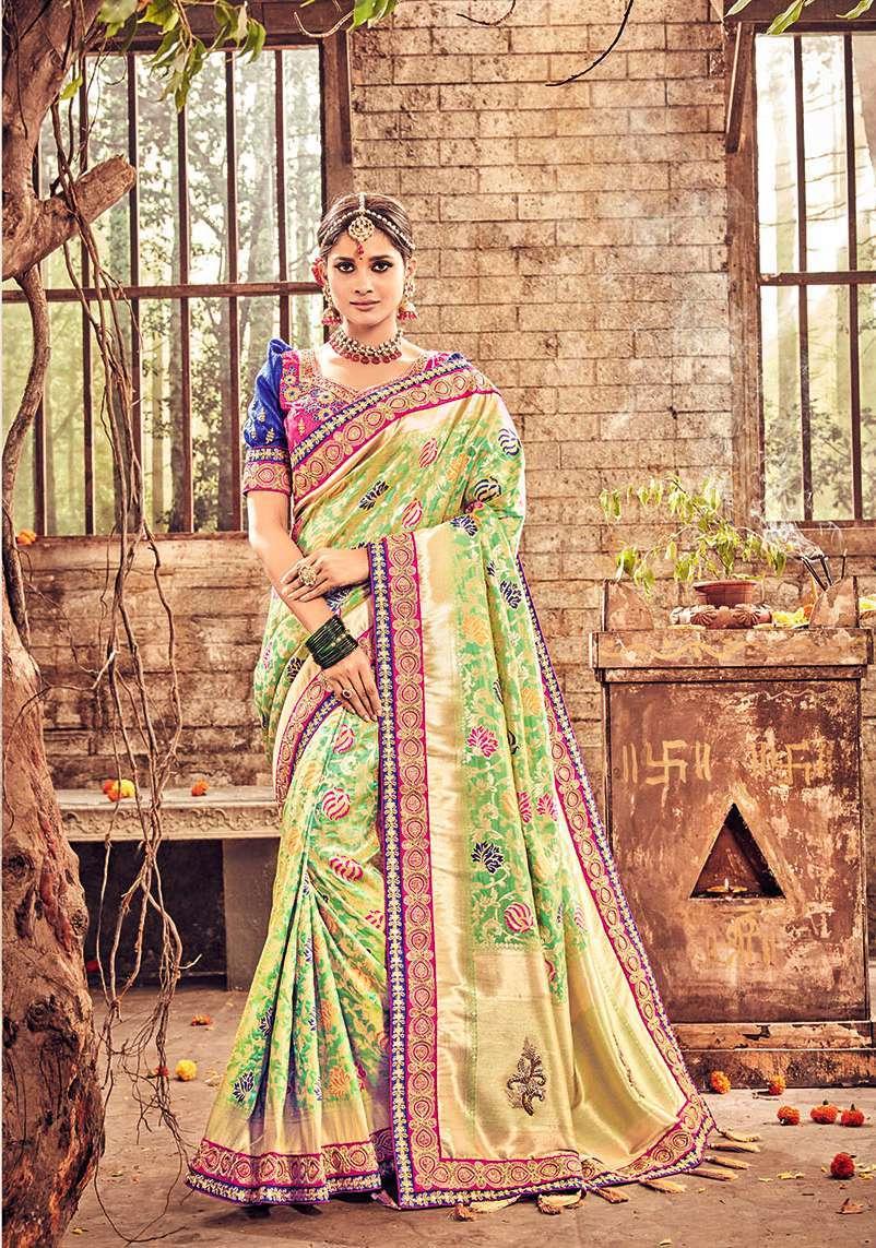 Online Designer Wedding Saree