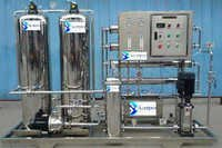 250 LPH Industrial Semi auto Semi SS Plant