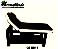 Aromablendz Wooden Spa Bed CS 5014
