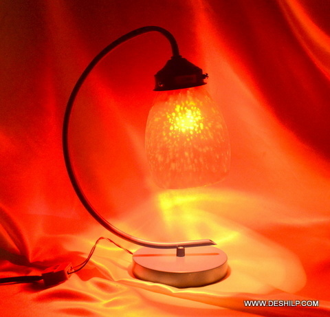 TABLE LAMP,GLS TABLE LAMP BASE,MODERN LAMP,CLEAR TABLE LAMP,FROST TABLE LAMP