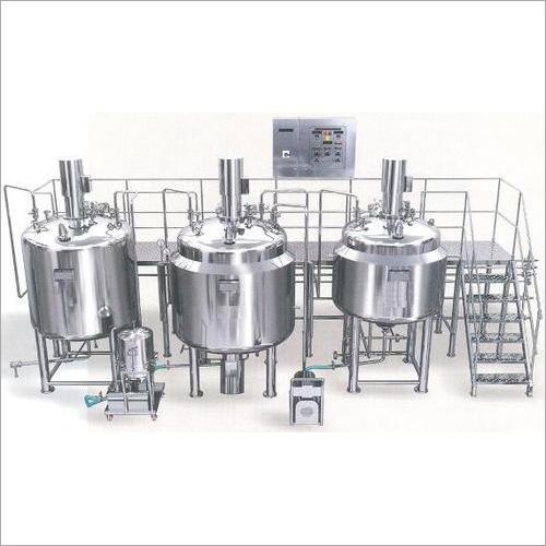 Liquid Syrup Processing Plant