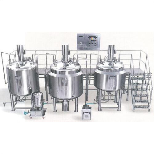 Liquid Syrup Plant Machine