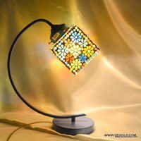 Mosaic Tea Light Candle Holder Glass Decoration Light
