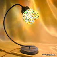 Glass table lamp Desk Table Light Lamp