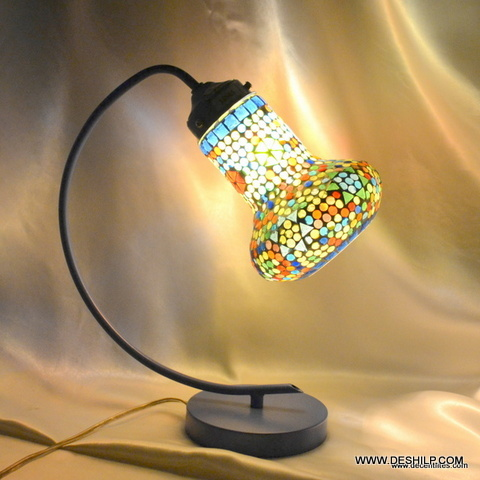 Desk Lamp, Decorated Table Lamp, Glass Table lamp