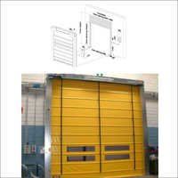 SIO Aut Fold High Speed Folding Doors For Outside Traffic