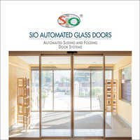 SIO Automated Glass Doors