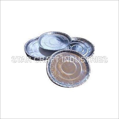 Silver Laminated Disposable Paper Plate