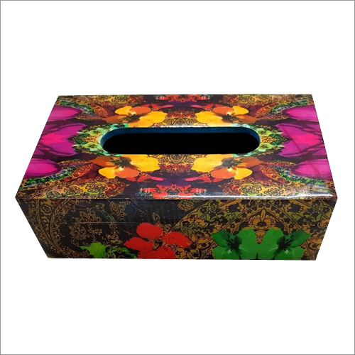 Resin Coated Tissue Boxes
