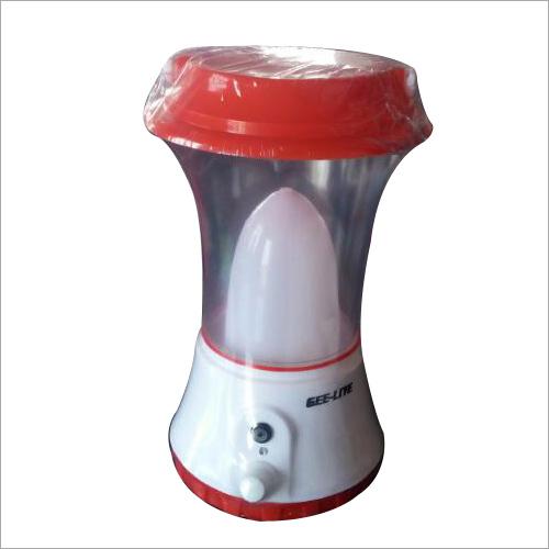 Red Solar Camping Lantern