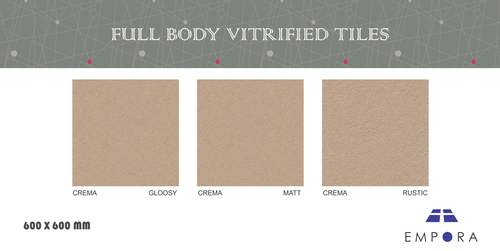 CREMA EXCLUSIVE Full Body Vitrified Tiles