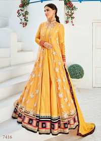 Heavy Work Anarkali Suits
