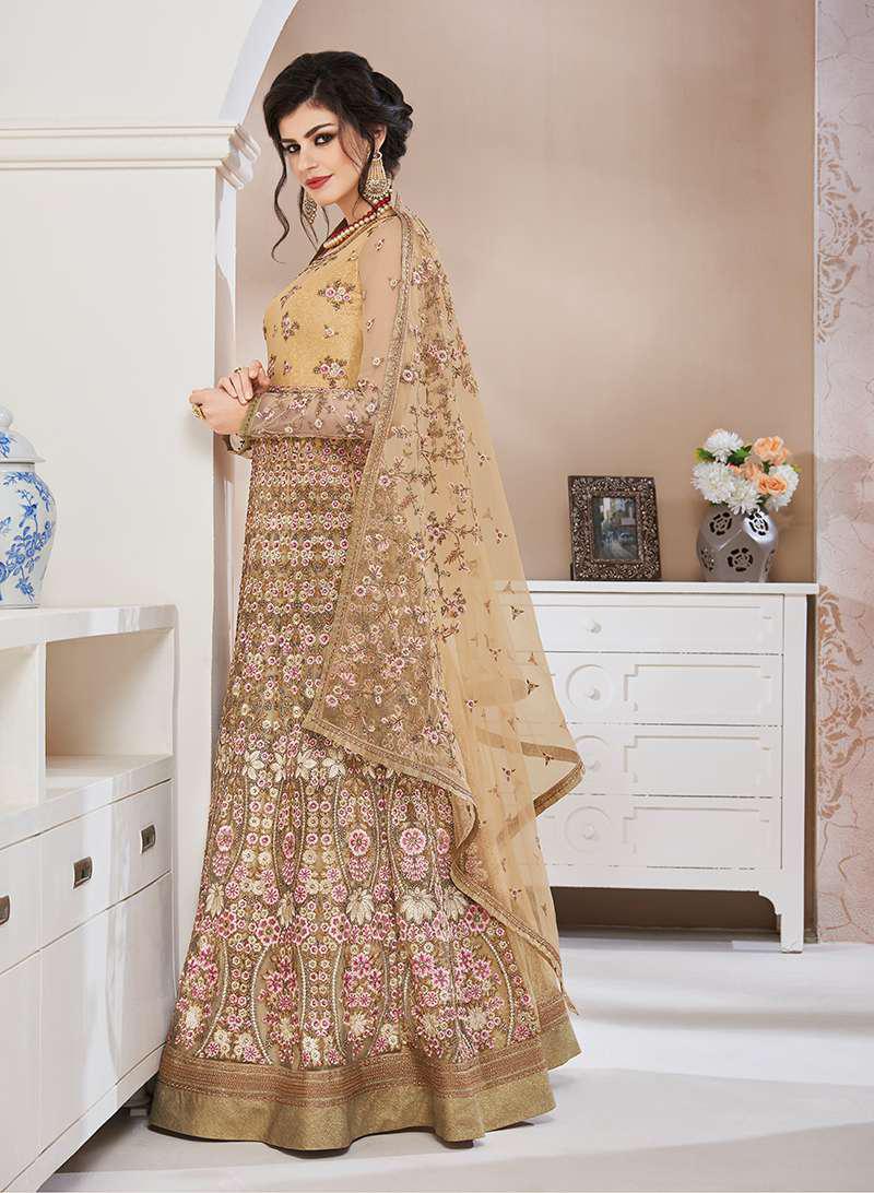 Heavy Work Anarkali Suits