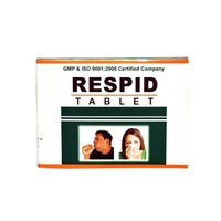 Ayurvedic  Herbal Medicine For Respiratory - Respid Tablet