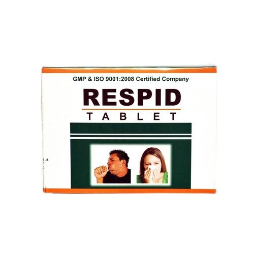 Herbal Ayurvedic Medicine For Respiratory - Respid Tablet