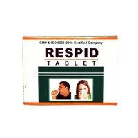 Ayurvedic Herbs Medicine For Respiratory - Respid Tablet