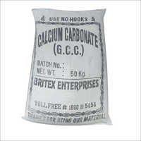 碳酸钙上漆的粉末