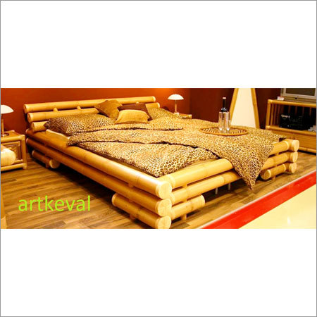 Double Bamboo Bed