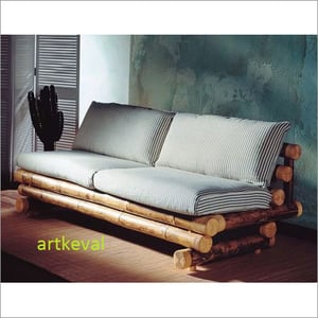 Bamboo Sofa 2 Seater