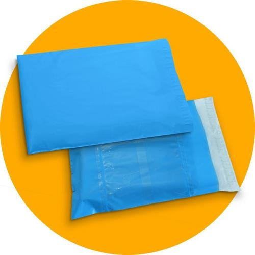 Blue Color Courier Bags