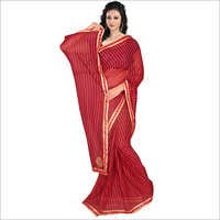 Patch Work Printed Sarees