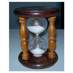 Nautical Wood Glass Sand Timer