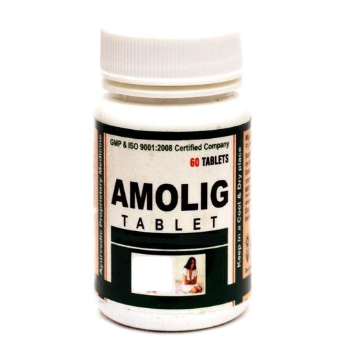 Ayurvedic Herbal Medicine For Menstrual - Amolig Tablet